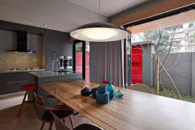 dining room garden view interior design ideas