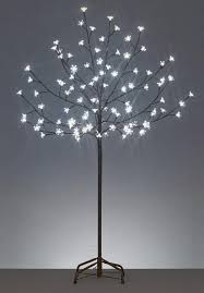 6 led lighted cherry blossom flower tree warm white lights