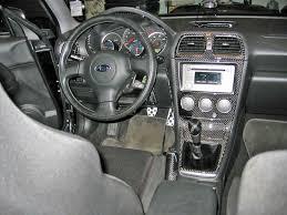 hawkeye subaru stock 2005 2007 subaru impreza wrx sti real carbon fiber dash trim kit