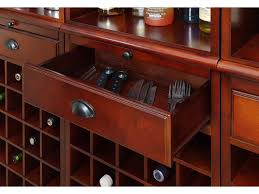 coaster bar and game room wall unit 3080 1 adams furniture