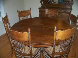 Oak Dining Table Chairs Best 25 Oak Dining Room Set Ideas On Pinterest Dining Room