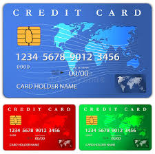 free debit card credit or debit card design template royalty free stock