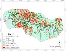 Geo Mapping The Spatial Prediction Of Landslide Susceptibility Applying