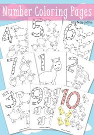 easy peasy coloring page animals number coloring pages easy peasy number and free printable
