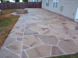 Painting Patio Pavers How To Extend Concrete Patio Painting Concrete Patio To Look Like