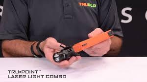 laser and light combo truglo tru point laser light combo installation youtube