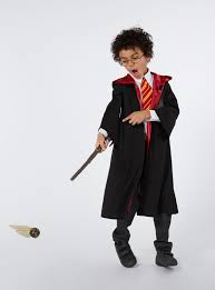 wizard costume wand fancy dress black harry potter costume tu clothing