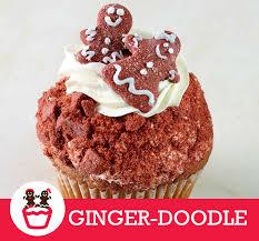 Ginger Doodle December Cupcake Ginger Doodle Cake Gingerbread Snicker Doodle