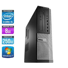 dell optiplex 790 desktop i5 8go 250go pc bureau