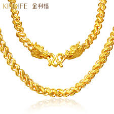 man gold necklace wholesale images Usd 4974 84 kim lee fu gold necklace men 39 s thailand faucet chain jpg