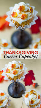 thanksgiving carrot cupcakes salted caramel drip wanderspice