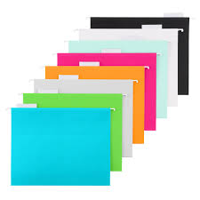 Hanging Pictures by Letter Size Hanging File Folders The Container Store