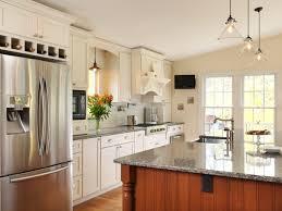 refrigerator in kitchen home design