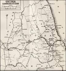 Eritrea Map Hyperwar East African Campaign 1940 41 Chapter 2