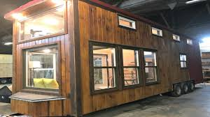 Barn Style Tiny House On Wheels Cross Breeze Windows Country Barn Style