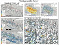 U Of M Map Mudslides Likely To Remain A Significant Threat In Nepal For Months