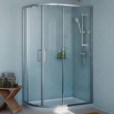 1200mm Shower Door by Cooke U0026 Lewis Exuberance Offset Quadrant Rh Shower Enclosure Tray