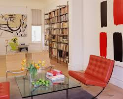 side chairs living room modern books living room contemporary with large painting stacking