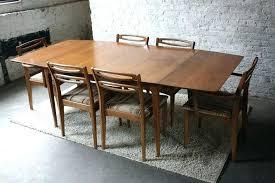 mid century walnut dining table mid century kitchen table mid century dining table and chairs mid