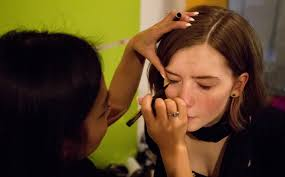 makeup school portland getting in step portland press herald