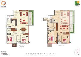 penthouse floor plans snn raj etternia luxurious affordable apartments flats and