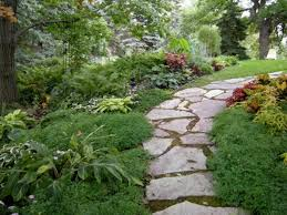 Backyard Pathway Ideas Design Ideas A Garden Path With Dashes Of Color Garden Pathway