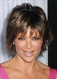 what is the texture of rinnas hair lisa rinna hairstyle back view lisa rinna messy short shag