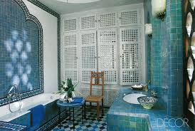Blue Bathroom Tile by Best Bathroom Colors Ideas For Bathroom Color Schemes Elle Decor