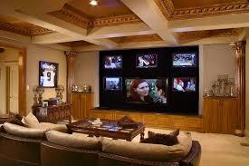 interior graceful wooden beam ceiling for cool basement media