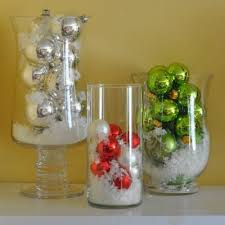 Table Centerpiece With Christmas Balls by Best 25 Christmas Vases Ideas On Pinterest Christmas Mason Jars