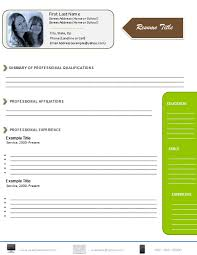 Word Resume Template 2007 Resume Templates Microsoft Word 2007 Free Download Resume