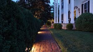 landscape lighting for walkways enlightened lighting
