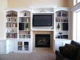 built in bookshelves around tv u2013 appalachianstorm com
