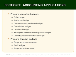22 the budgeting process principles of accounting 12e