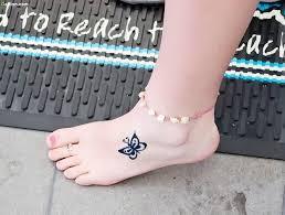 fantastic ankle butterfly design golfian com