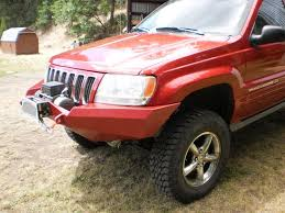 jeep winch bumper 99 04 wj front winch kit diy off road