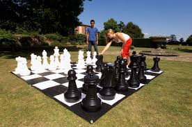 garden games giant lawn chess with mat walmart canada