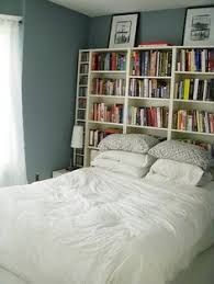 bookshelf headboards bookcase behind bed google search pinteres