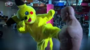 Pikachu Costume Ronda Rousey Trains In A Pikachu Costume Like Any Great Ufc