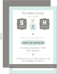 couples shower invitations couples baby shower invitations coed baby shower invitations