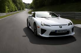 lexus lfa in the usa first german customer takes deliver of lexus lfa at nurburgring