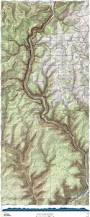 Map Of Western Pennsylvania by West Rim Trail Pahikes