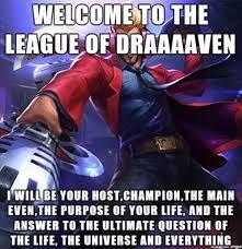 League Of Draven Meme - elohell mobile show site