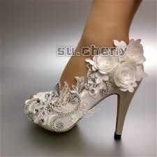 wedding shoes size 11 wedding shoes size 11 luxury 3 4 heel satin white ivory lace
