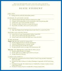 highschool resume template resume skills for high school students