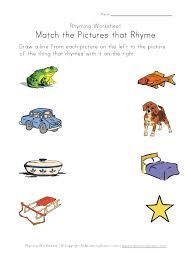 printable rhyming words printable rhyming worksheets for preschool trials ireland