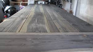 how to stain pine table diy stain for rustic tables merrypad
