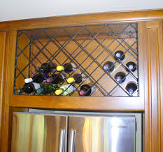 iron lattice wine rack neal smith designs
