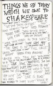 common sayings we got from shakespeare central coast renaissance