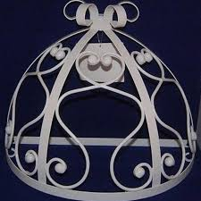 Crown Bed Canopy Find More Wall Teester Bed Crown Canopy Scrolls Princess For Sale